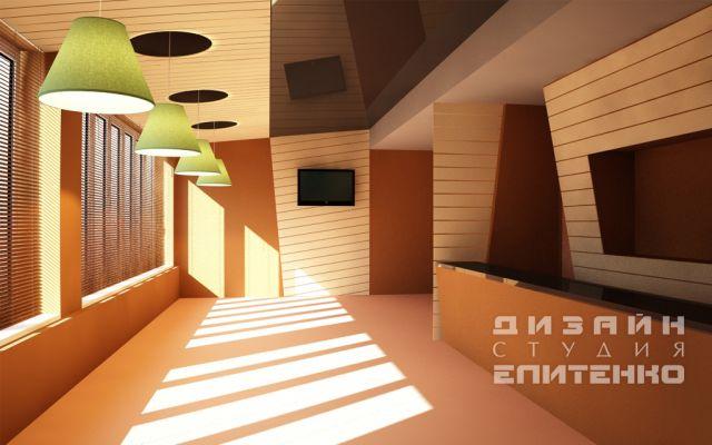 концептуальный дизайн кафе